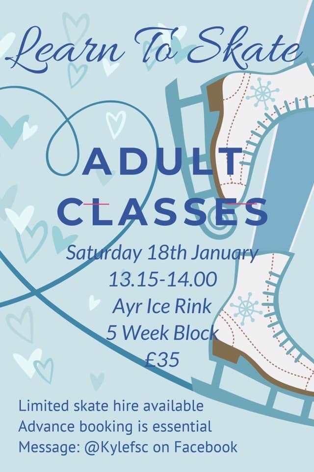 ADULT CLASS POSTER