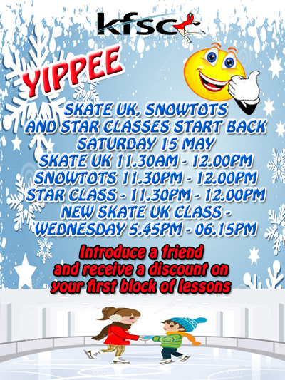 SATURDAY SKATE UK CLASS INFORMATION
